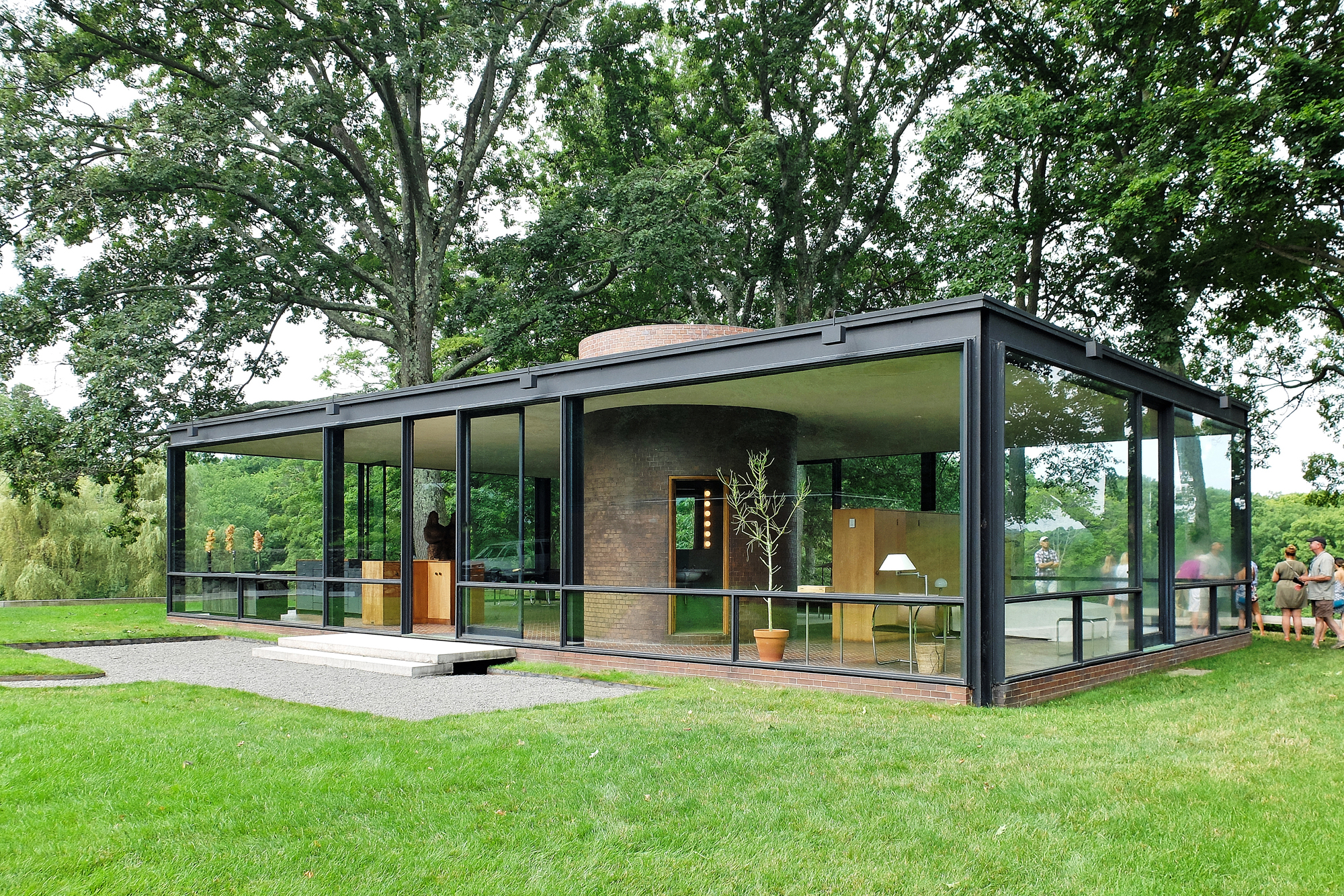 The Brick House the Glass Houses CompanionMasonry Construction  Residential Construction
