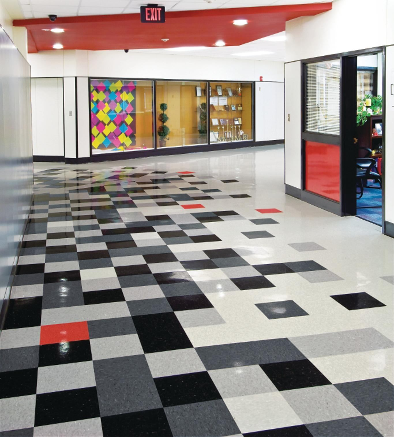 Armstrong Migrations Bio Based Tile Architect Magazine Flooring Sustainable Materials Tile