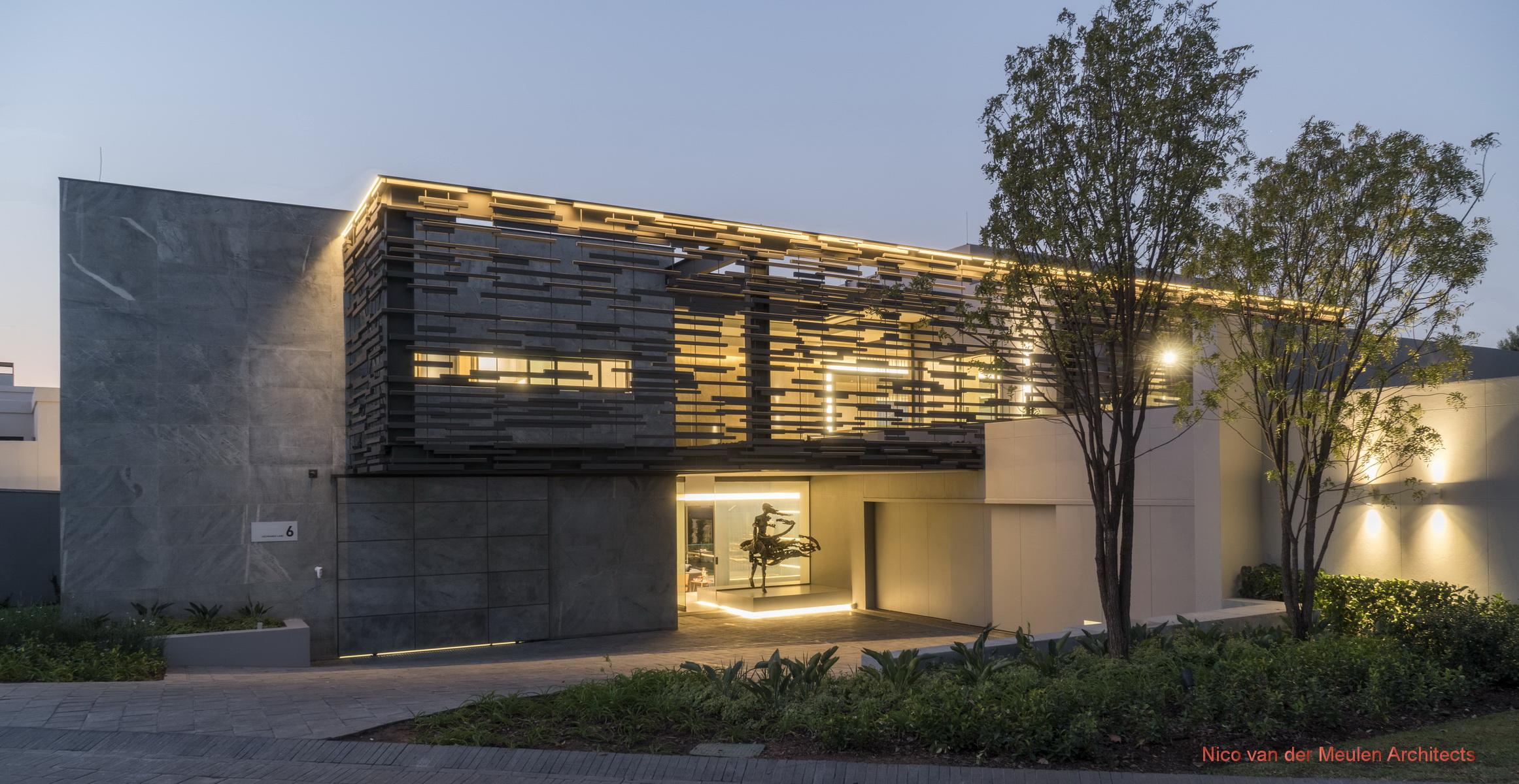 Forrest Road  Architect Magazine  Nico van der Meulen Architects Sandton Inanda SOUTH