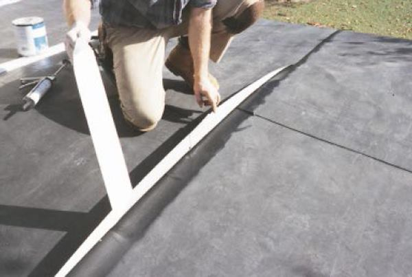LowSlope Reroof with EPDM  JLC Online  Roofing Underlayments Paints Caulks Adhesives and