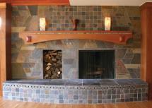 Selling Mantel Fireplace Striking Focal