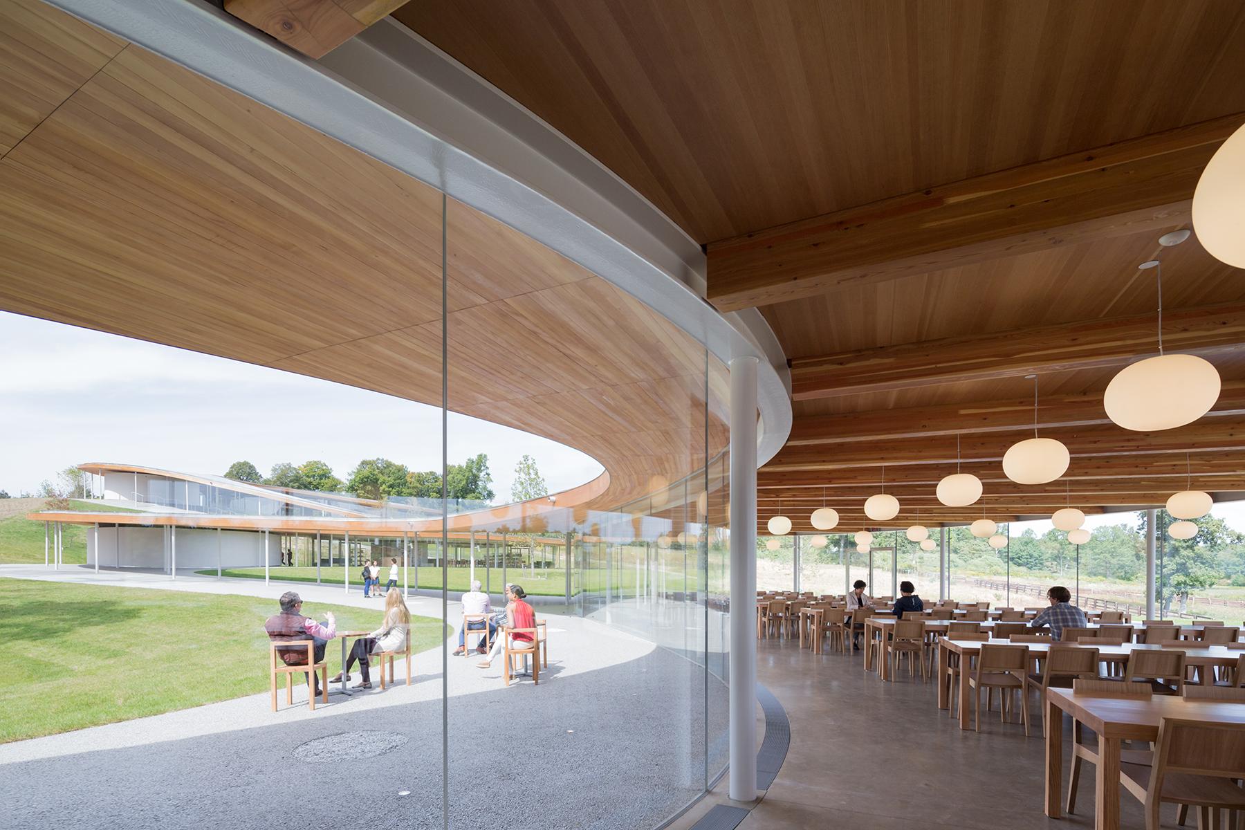 Grace Farms  Architect Magazine  SANAA Handel Architects Religious Community MCHAP