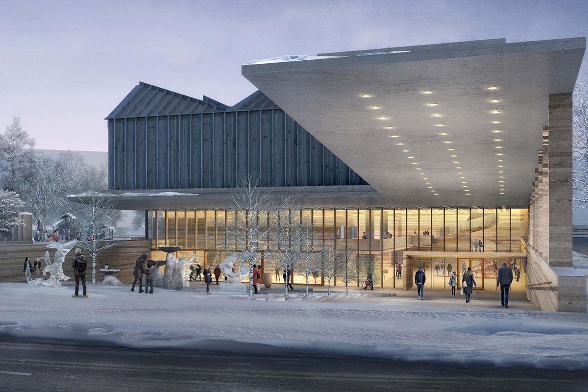 Adjaye Associates and AB3D Picked to Design the Latvian