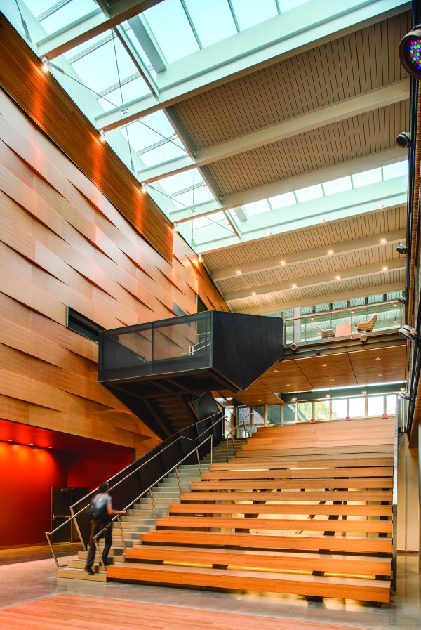 Reed College Performing Arts Building Architect Magazine Rethink Wood Portland Usa