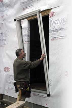 patio kitchen modular outdoor flashing an entry door | jlc online exteriors, siding ...