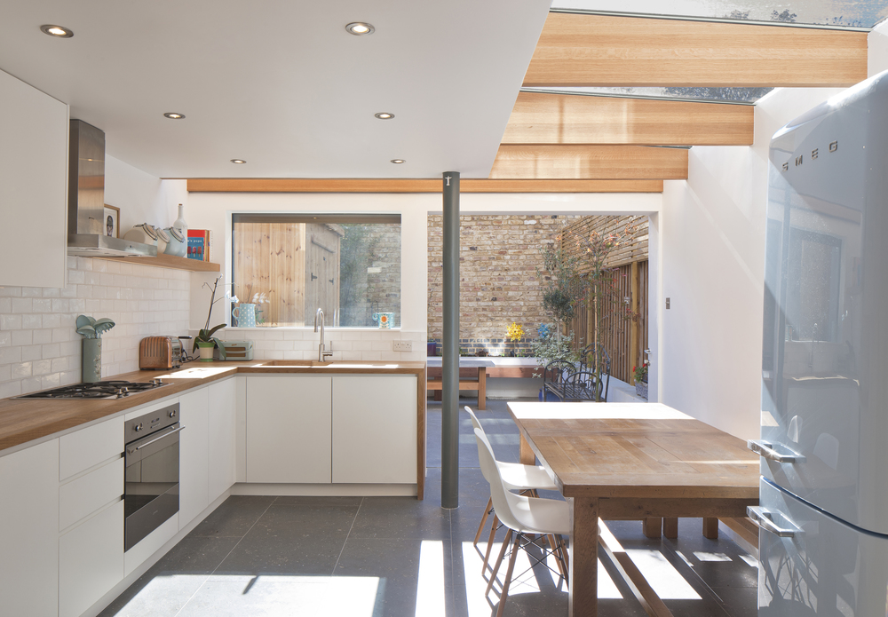 Extension One  Architect Magazine  Denizen Works London