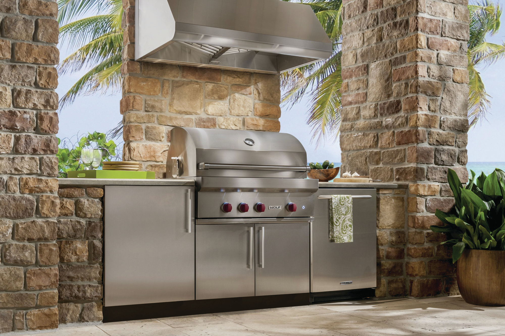 Try These Upgrades to Your Outdoor Kitchen  Remodeling  Outdoor Kitchens Outdoor Rooms
