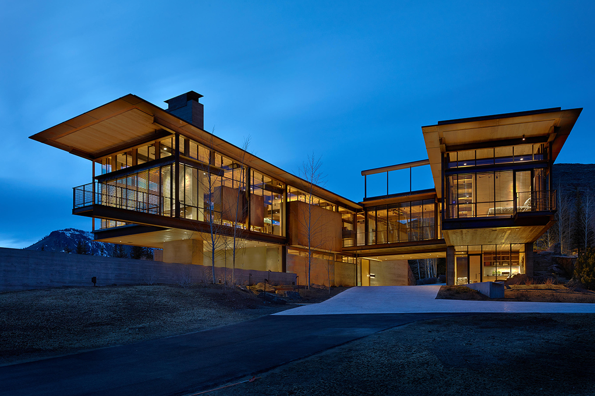 Bigwood Residence  Architect Magazine  Olson Kundig Sun