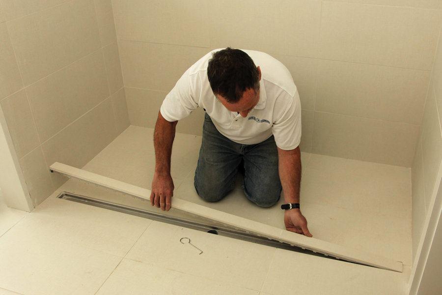 Lineup of Linear Shower Drains  JLC Online  Shower Tile