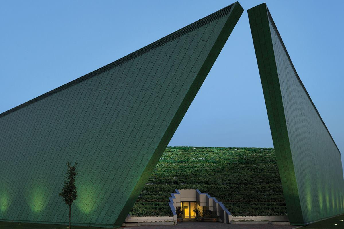 The Elusive Mr Ambasz  Architect Magazine  Design Architects Sustainability TrentonEwing