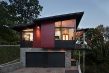 Modern Shed Roof House Plans with Garages
