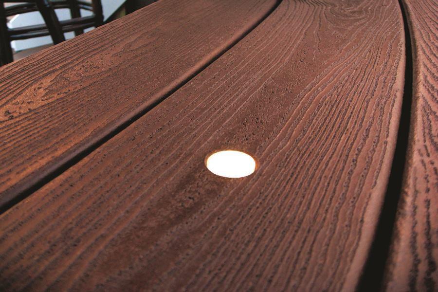 deck lighting system by trex builder