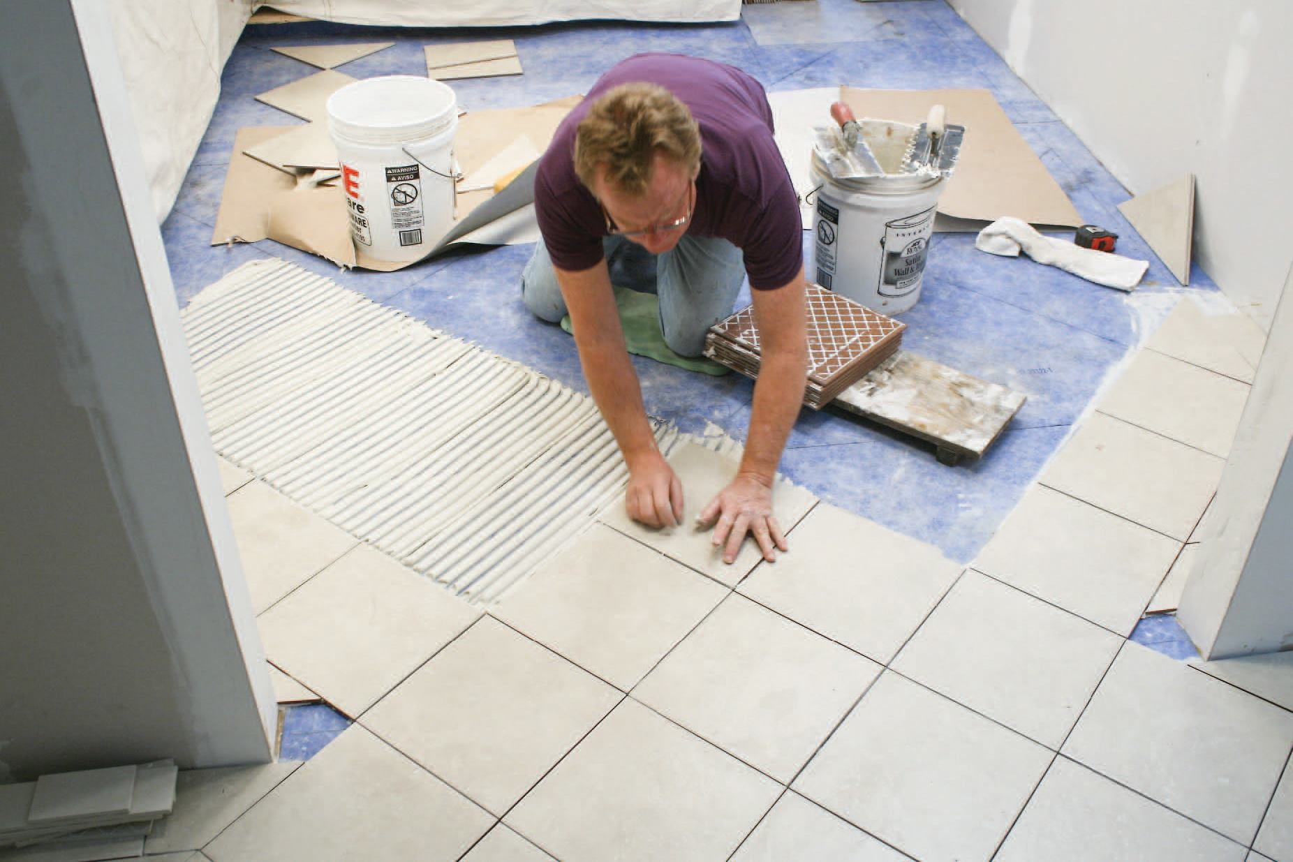 Tiling Over Plywood Subfloors  JLC Online  Flooring Underlayments Framing Caulks Adhesives