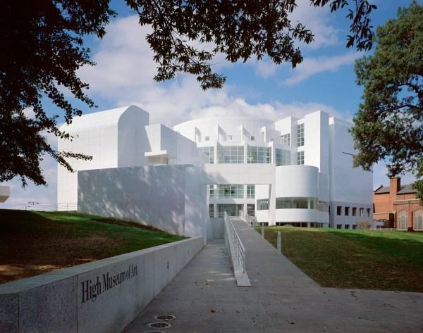 High Museum Of Art Architect Magazine Richard Meier & Partners Architects Atlanta Ga Usa