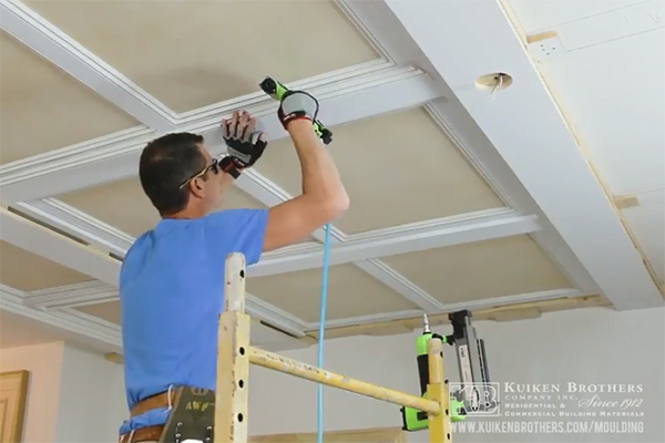 PaintGrade Coffered Ceilings  JLC Online  Ceilings