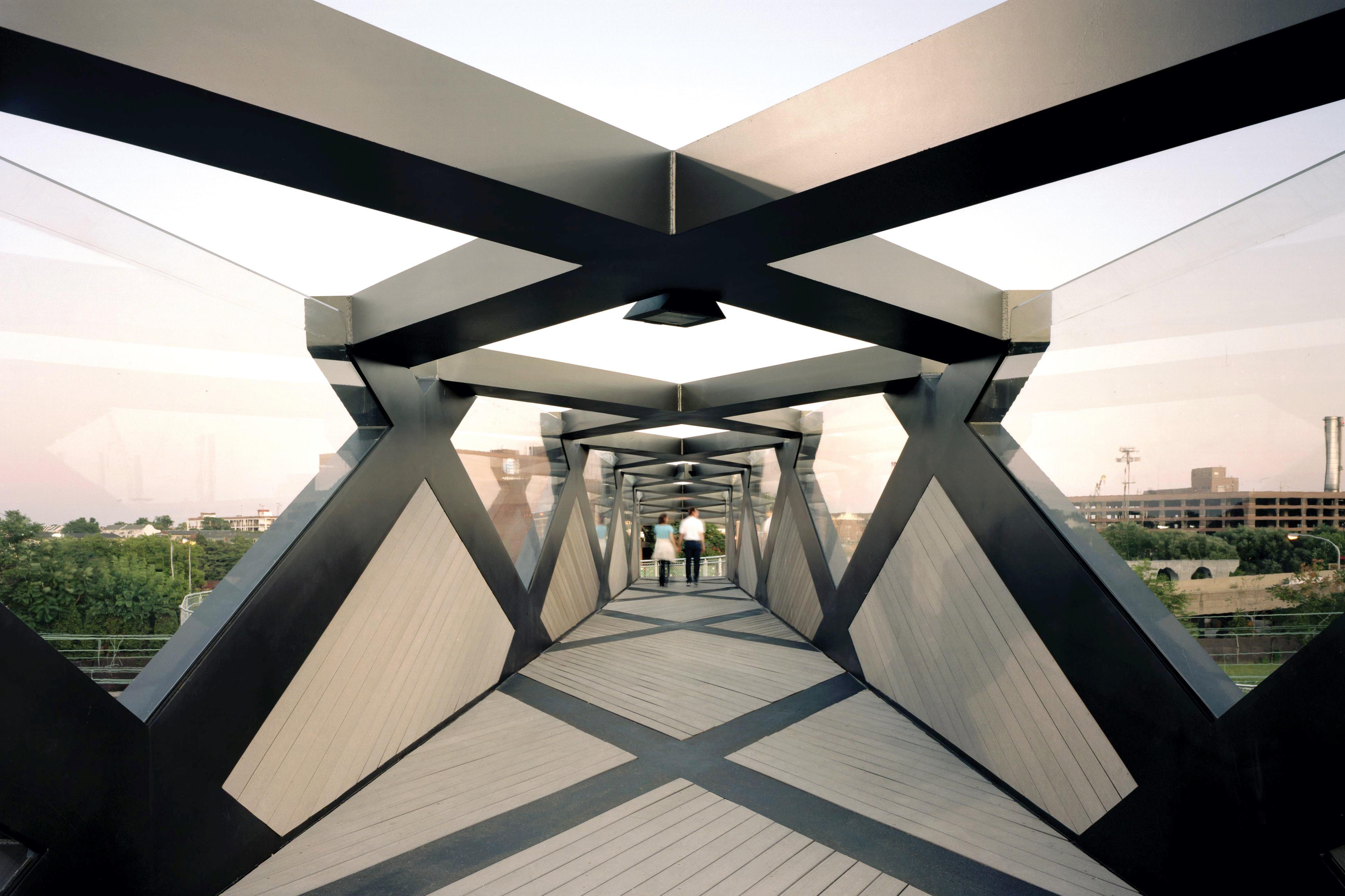 Weave Bridge Architect Magazine Engineering Bridges