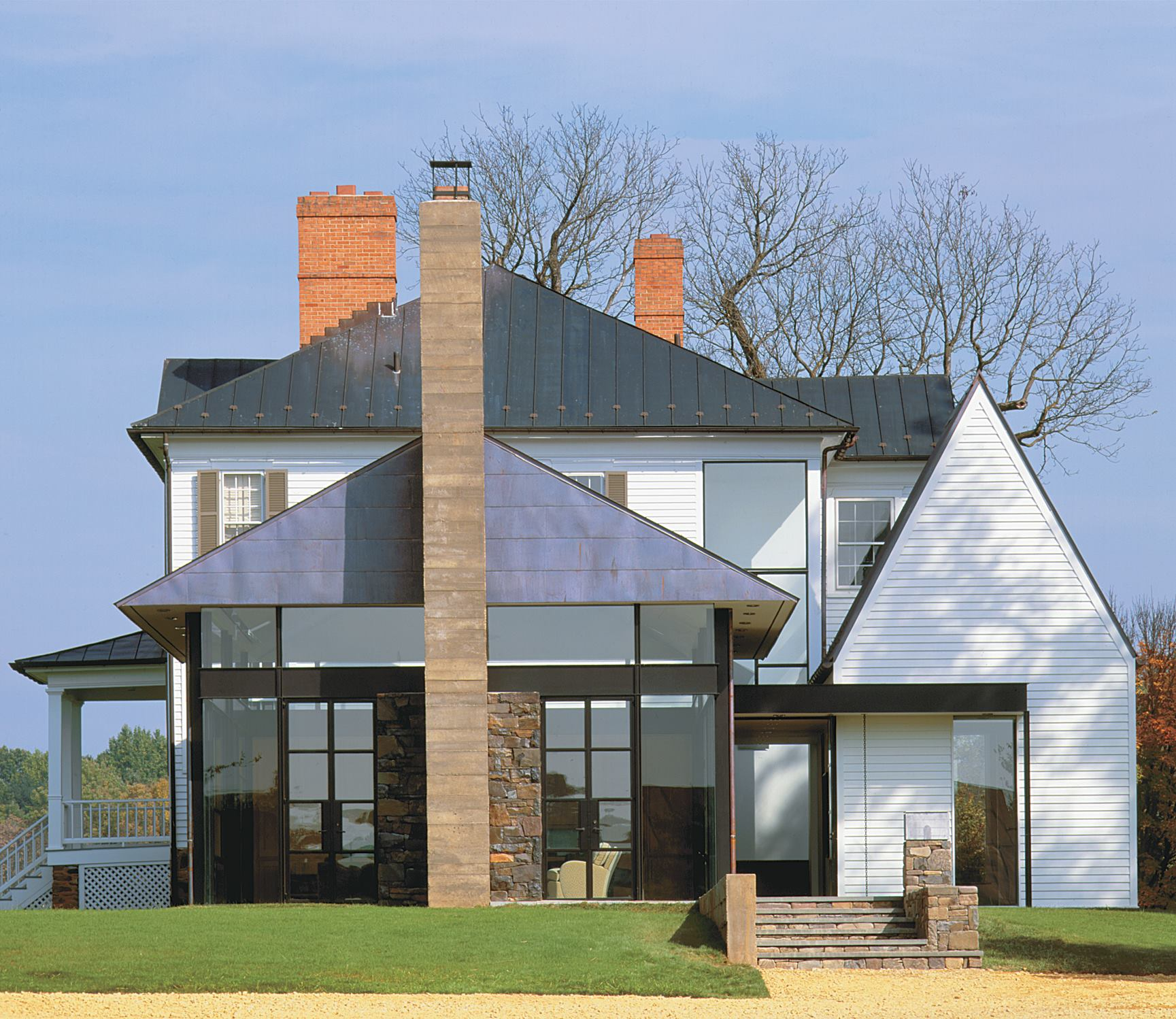 Blue Ridge Farmhouse Addition Washington Va