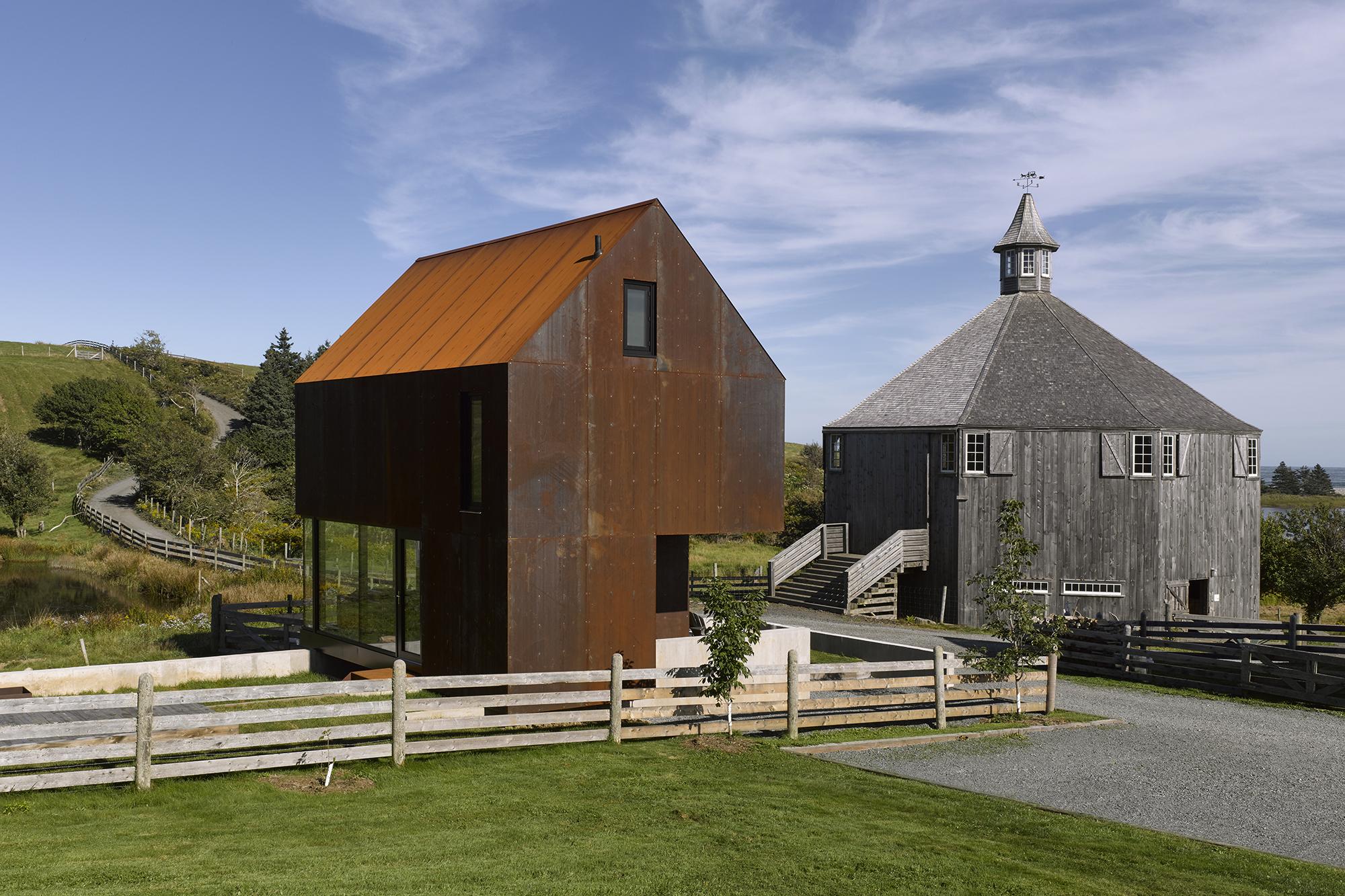 Enough House  Architect Magazine  MacKayLyons Sweetapple Architects Upper Kingsburg Nova