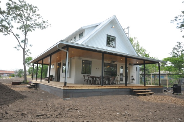 Exterior Details For A Modern Farmhouse