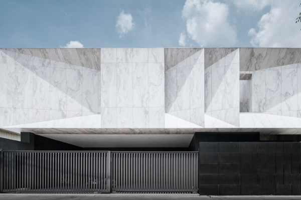 Marble House Architect Magazine Openbox Architects Bangkok Thailand Single Family