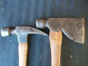 Hammer vs Rigging Axe  Tools of the Trade