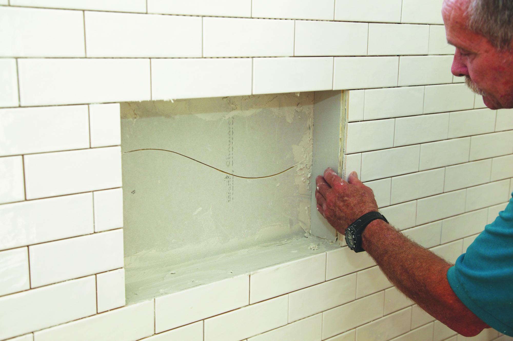 Tile For A Waterproof Shower Niche Jlc Online