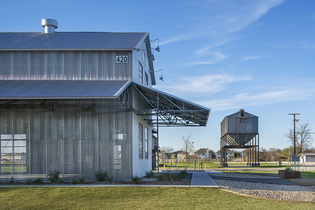 The Cotton Gin at the COOP District  Architect Magazine