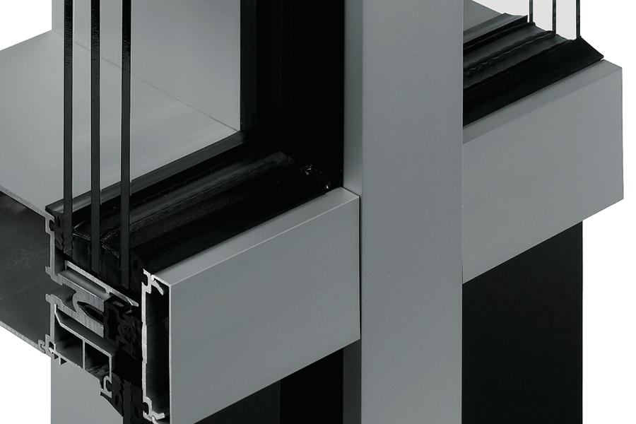 Kawneer 1600UT Curtain Wall System Architect Magazine Curtain Walls Exteriors