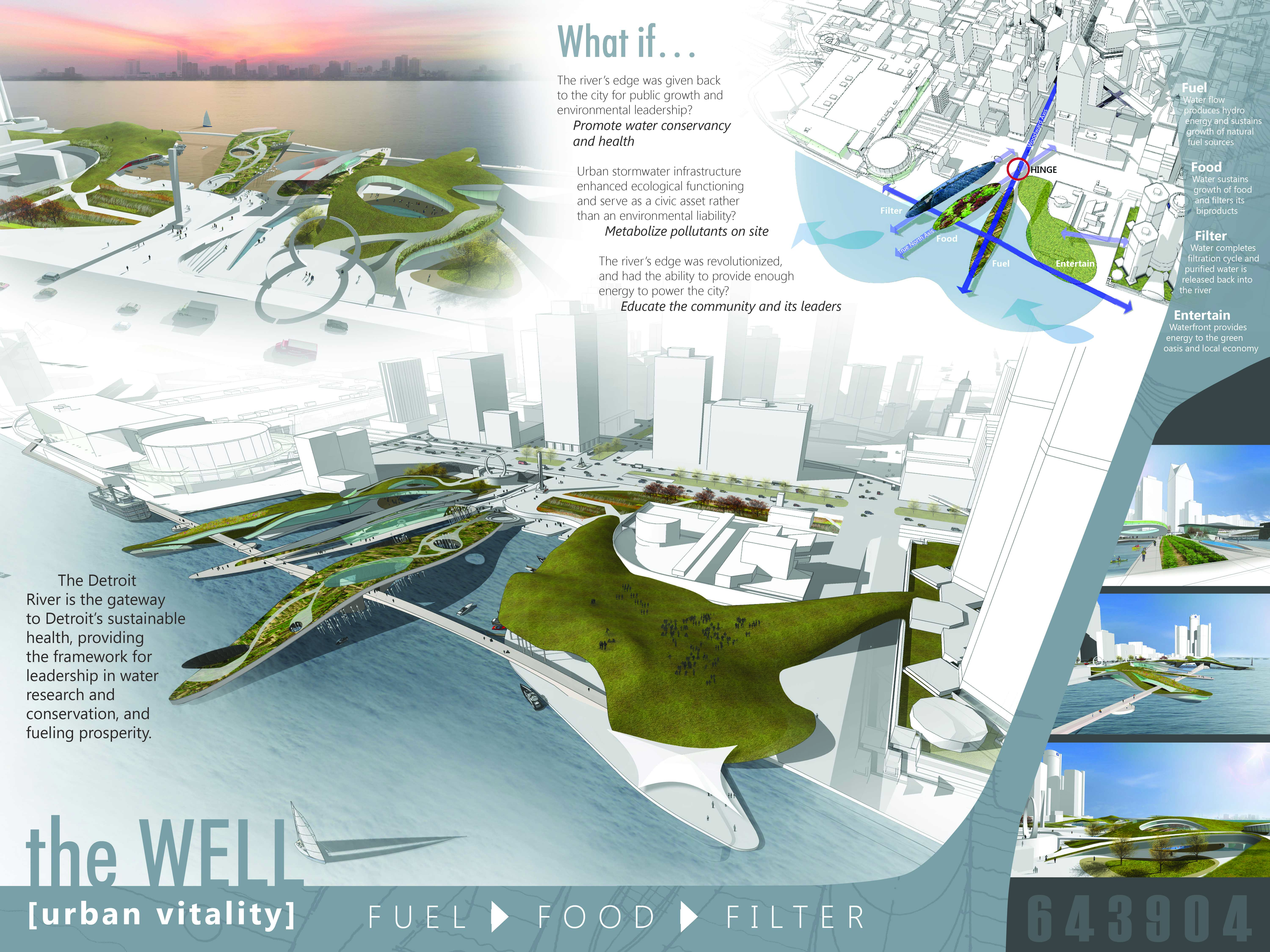 The WELL Detroit Riverfront Competition Architect