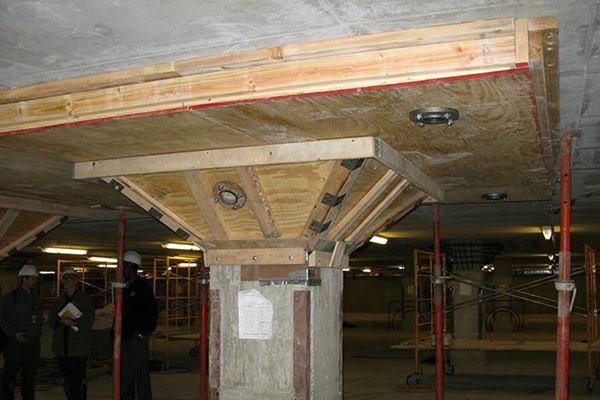 Defining Concrete Repair ParkingPlaza Slab Strengthening
