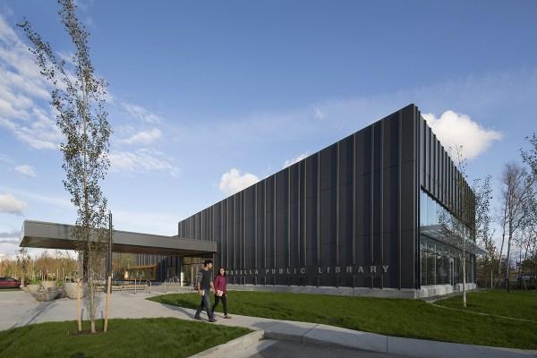 Wasilla Public Library Architect Magazine Eci