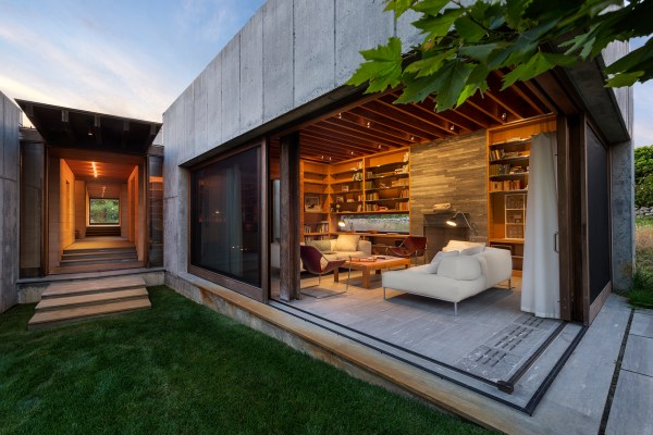 East House Residential Architect Peter Rose Partners Chilmark Ma United States Single