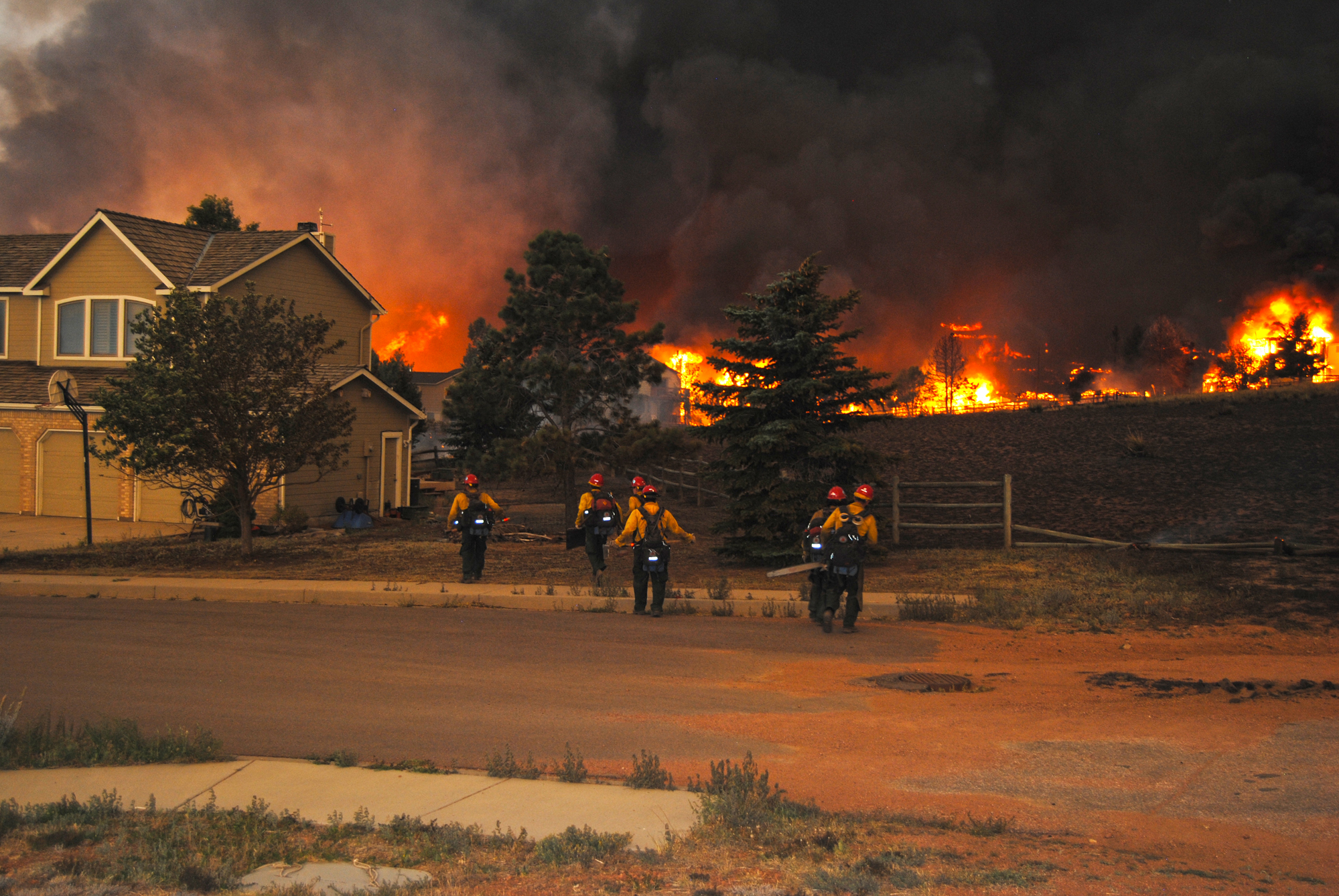 Living With Wildfire  JLC Online  Fire Safety Resilient