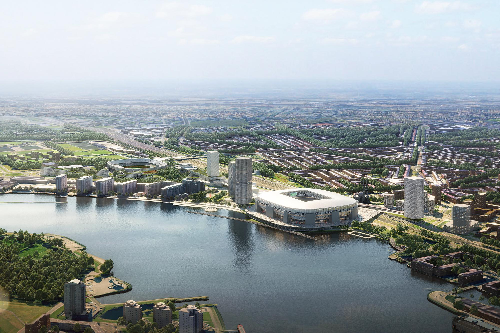 feynoord city stadium by office for