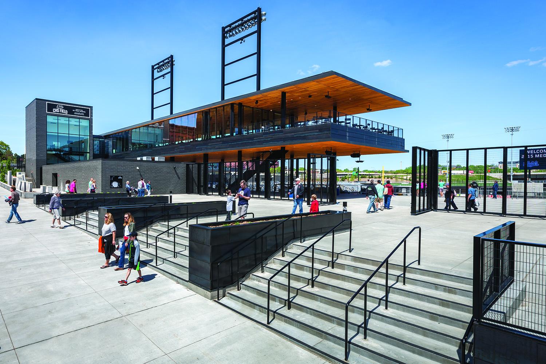CHS Field  Architect Magazine  Snow Kreilich Architects