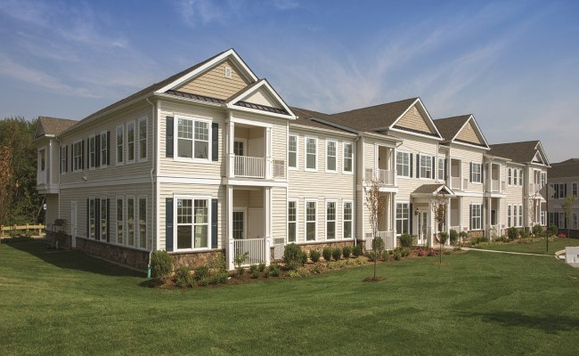 Single Family Feel In A 55 Plus Multifamily Property