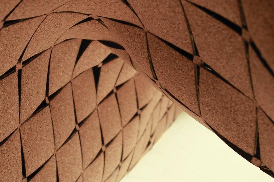 Cork Architecture LaserCut Cork Surfaces  Architect