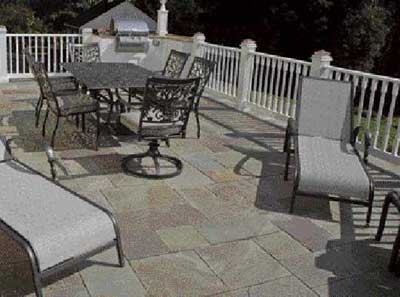 Paving a Deck With Stone  Professional Deck Builder  Decking Building Materials Structure