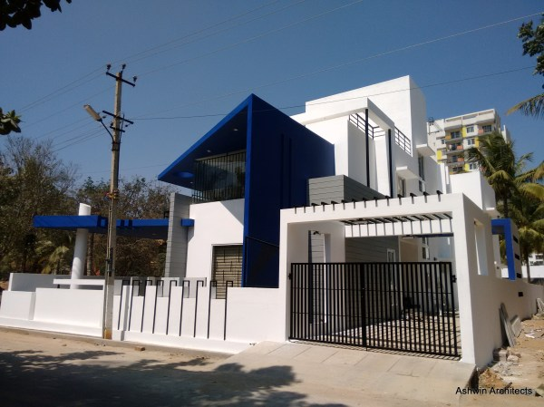 Modern Villa Design Bangalore Architect Magazine