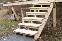 Building and Installing Deck Stairs | Professional Deck ...