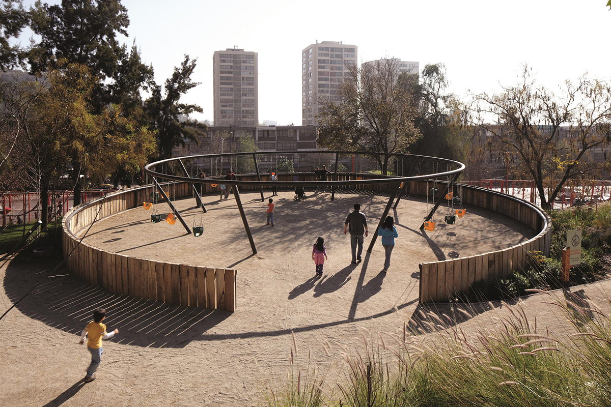 Bicentennial Childrens Park  Architect Magazine  Elemental Santiago Chile Community New