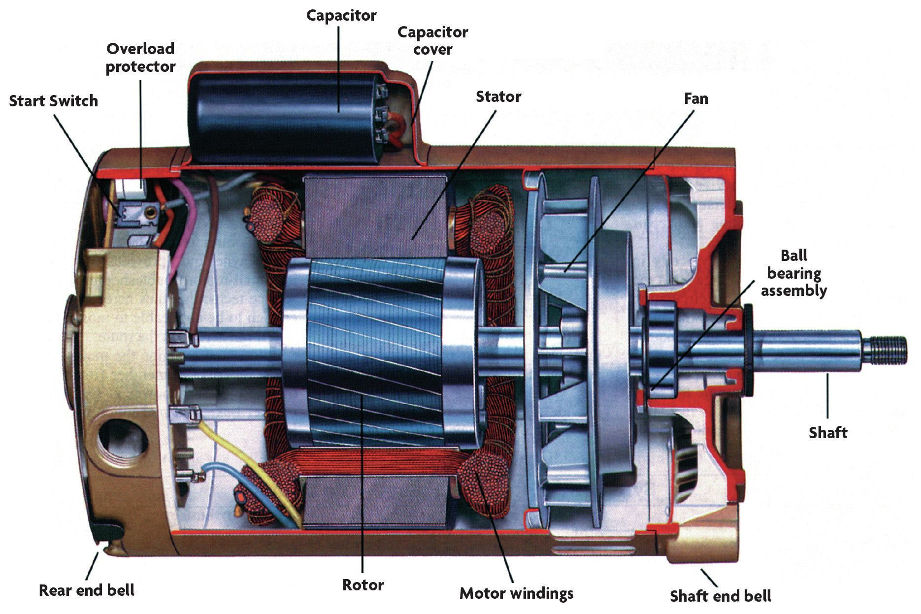 Ao Smith Fan Motor Wiring Diagram Bearing Replacements Pool Amp Spa News Repair Pools