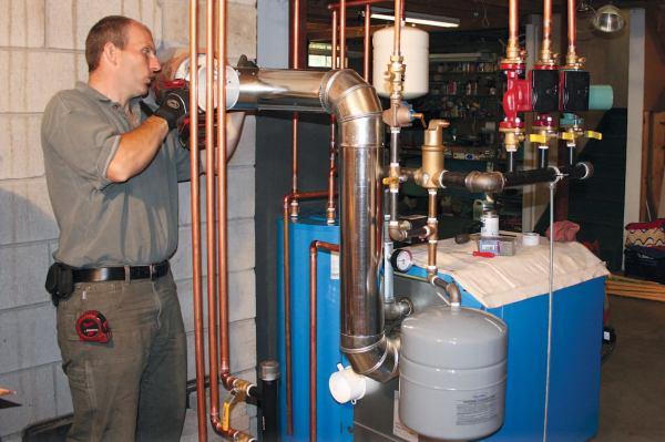 Installing Efficient Noncondensing Boiler Jlc Online