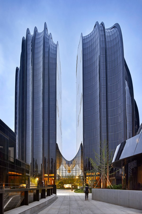 Mad Architects Completes Chaoyang Park Plaza In Beijing Multifamily Executive Magazine