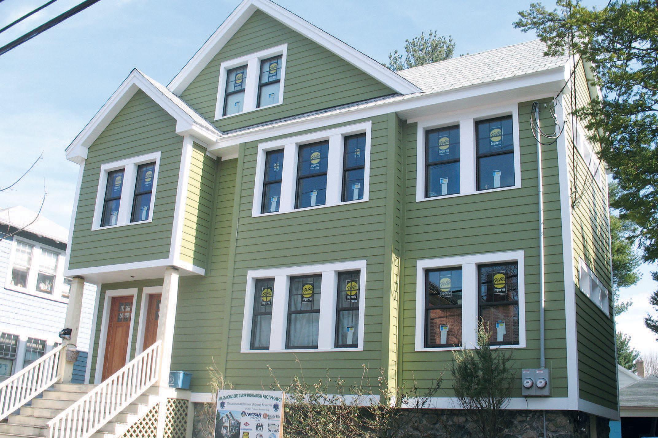 Retrofitting Exterior Insulation JLC Online Building