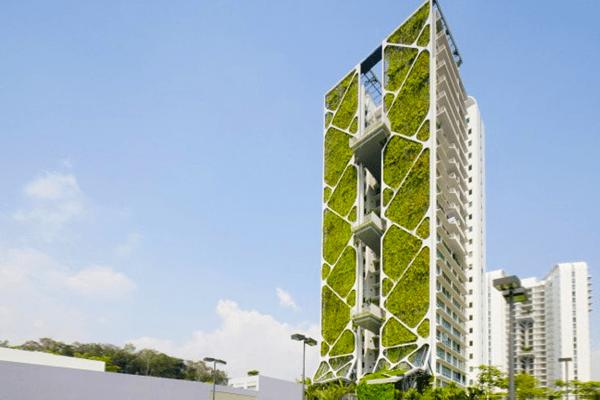 Worlds Largest Vertical Garden EcoBuilding Pulse