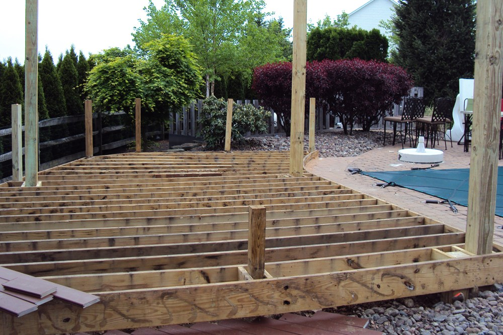 medium resolution of ground rules for grade level decks professional deck builder building codes framing fencing and railing foundation