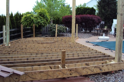 small resolution of ground rules for grade level decks professional deck builder building codes framing fencing and railing foundation
