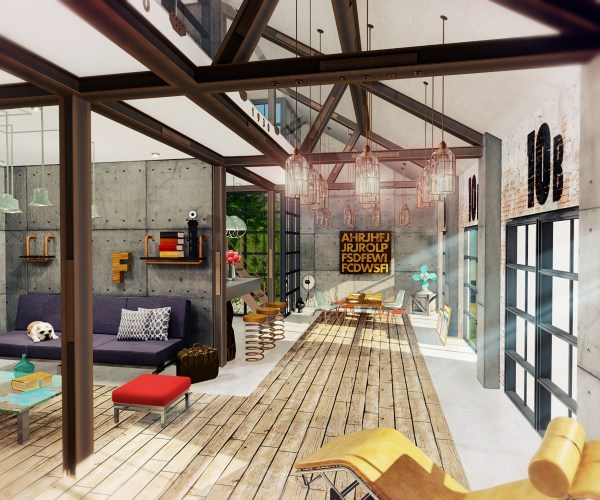 Industrial Loft Architect Magazine Archinteriors
