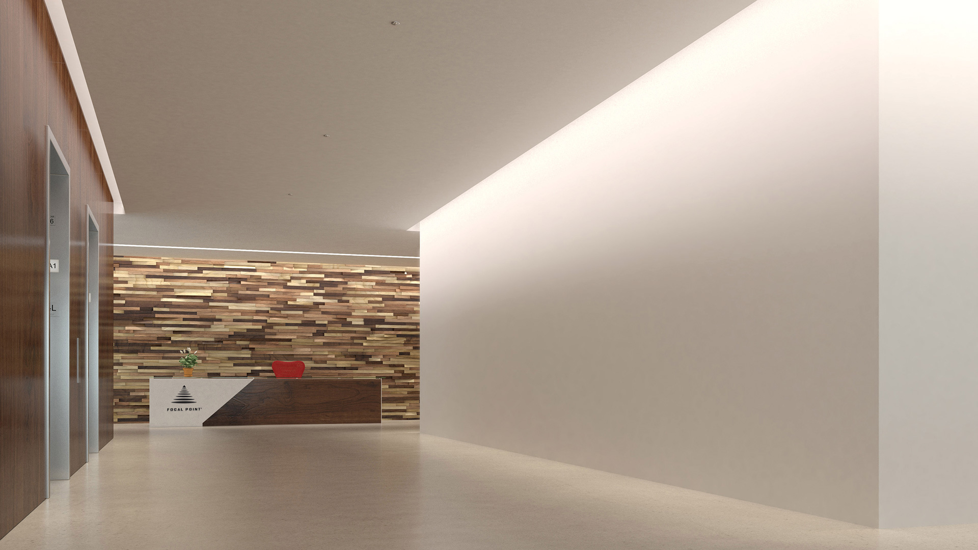 Focus Wall Wash by Focal Point  Architectural Lighting